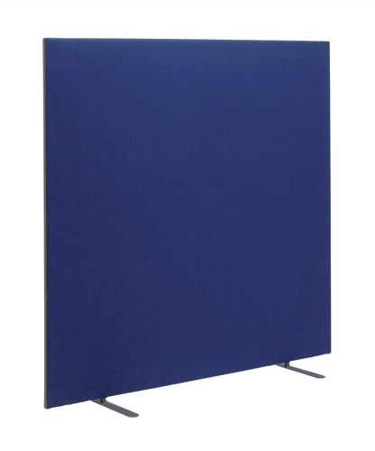Trexus 1600 Screen Free-standing with Stabilising Feet W1600xH1500mm Royal