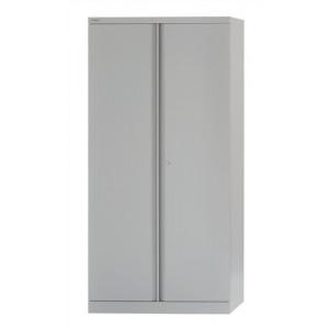 Bisley Cupboard Steel High 2-door 3-Shelf W914xD457xH1806mm Grey Ref 7236/2/S grey