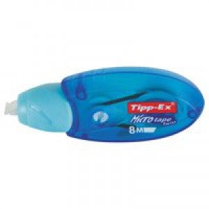 Tipp-Ex Micro Tape Twist Correction Roller with Rotating Cap 5mmx8m Ref 8706151 [Pack 10]