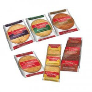 Crawfords Mini Packs Assorted Biscuits 6 Varieties Pack 100 Code A06059