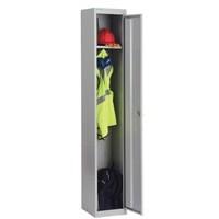 Bisley Locker Steel 1-Door W305xD305xH1802mm Goose Grey Ref CLK121-73