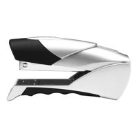 Rexel Gazelle Stapler Half Strip Throat 50mm Silver and Black Ref 2100790