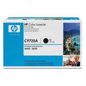 HP No.641A Toner Cartridge Black Code C9720A