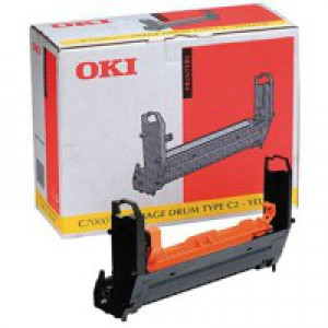 Oki Drum Unit C7000 Yellow 41304109