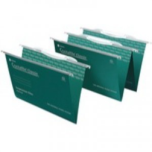 Twinlock Crystalfile Classic Suspension File With Link Tabs V-Base Foolscap Code 3000030