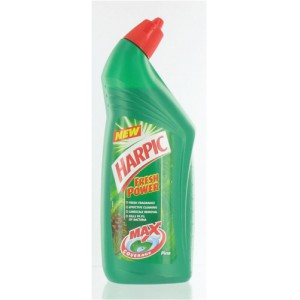 Harpic Active Toilet Cleaning Gel Fresh Power Pine 750ml Ref N06068