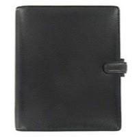 Image for Filofax Finsbury Personal Organiser A5 Black Ref 025368