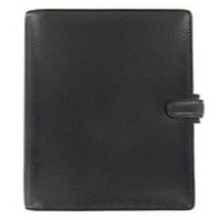 Filofax Finsbury Personal Organiser A5 Black Ref 025368