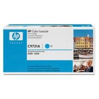 Hewlett Packard [HP] No. 645A Laser Toner Cartridge Page Life 12000pp Cyan Ref C9731A