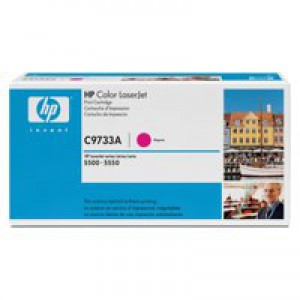 Hewlett Packard [HP] No. 645A Laser Toner Cartridge Page Life 12000pp Magenta Ref C9733A