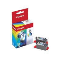 Canon BCI-15C Inkjet Cartridge Page Life 160pp Colour Ref 8191A002 [Pack 2]
