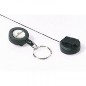 Durable Badge Reel&KeyRing Pk10 8222/58