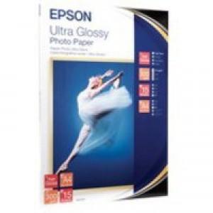 Epson Ultra Glossy A4 Photo Paper Pk15
