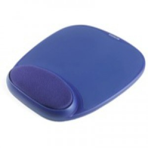 Acco Kensington Foam Mouse Pad Blue 64271