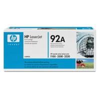 Hewlett Packard [HP] No. 92A Laser Toner Cartridge Page Life 2500pp Black Ref C4092A