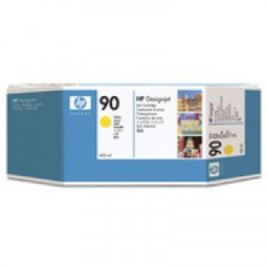 HP 90 Yellow Inkjet Cartridge C5065A