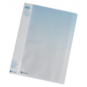 Rexel Ice Display Book Polypropylene 40 Pockets A4 Clear Covers Ref 2102041 [Pack 10]