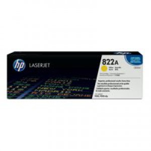 Hewlett Packard [HP] No. 822A Laser Toner Cartridge Page Life 25000pp Yellow Ref C8552A