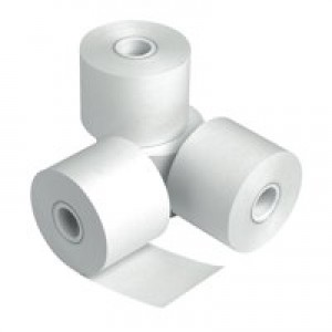 Cash Register Rolls 76x76x12.7mm Length 62m Ref CR60 [Pack 20]