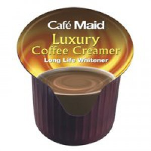 Millac Maid Brown and Creamer Jiggers Long Life 14ml Ref A02082 [Pack 120]