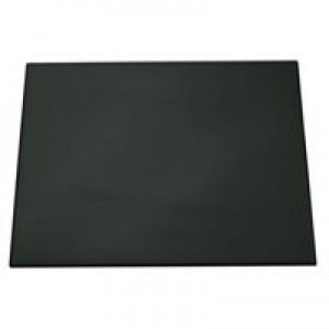 Durable Desk Mat With Transparent Overlay 700x500mm Black Code 7203/01