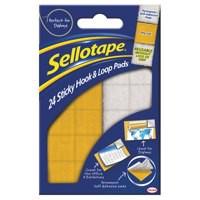 Sellotape Hk&Loop Pads 3793/4542 Bx24Prs