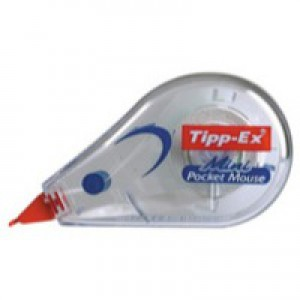 Tipp-Ex Mini Pocket Mouse Correction Tape Roller 5mmx5m Code 812878