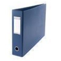 Elba Lever Arch File PVC 70mm Capacity Landscape Blue A3 Ref 100082425 [Pack 2]