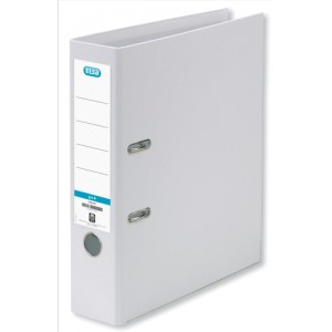 Elba Lever Arch File PVC 70mm Spine A4 White Ref 100080902 [Pack 10]