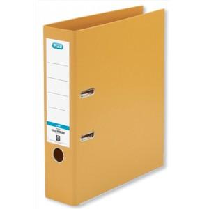 Elba Lever Arch File PVC 70mm Spine A4 Orange Ref 100080905 [Pack 10]