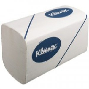 Kleenex Ultra Super Soft Hand Towels 3 Ply Sleeve of 96 Towels 315x215mm Ref 6778 [Pack 30 Sleeves]