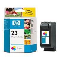 Hewlett Packard [HP] No. 23 Inkjet Cartridge Page Life 620pp 30ml Colour Ref C1823D