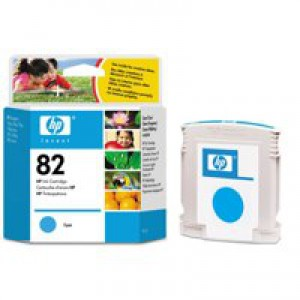 Hewlett Packard [HP] No. 82 Inkjet Cartridge 69ml Cyan Ref C4911AE