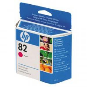 Hewlett Packard [HP] No. 82 Inkjet Cartridge 69ml Magenta Ref C4912AE