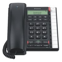BT Converse 2300 Telephone Caller Display 10 Redial 100-entry Directory Black Ref 040212