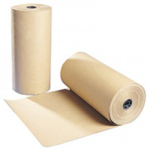 Wrapping Paper Roll 70gsm 500mmx25m Brown