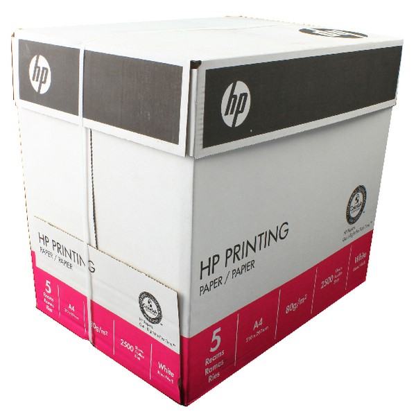 Hewlett Packard [HP] Printing Paper Multifunction Ream-Wrapped 80gsm A4 White Ref HPT0317 [500 Sheets]