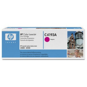 Hewlett Packard Laser Toner Cartridge Magenta C4193A