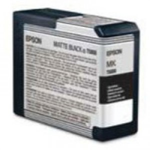 Epson T5808 Matte Black Inkjet Cartridge