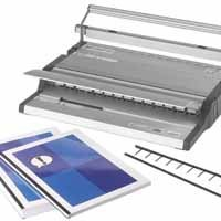 GBC SureBind 500 Office Strip Binder Manual Binds 500 Sheets Punches 25x80gsm A4 Ref 4400400
