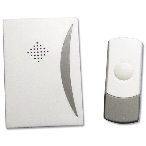 Wireless Door Bell Kit Battery Operated 24 Chimes Range 50m