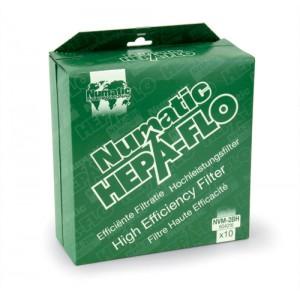 Numatic Replacement Bags Hepa-Flo for Vacuum Cleaners Charles and George Ref NVM2BH [Pack 10]