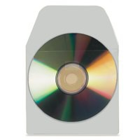 Image for 3L Self-Adhesive CD-ROM Pocket Pack of 100 6832-100