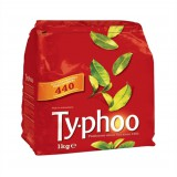 Typhoo Tea Bags Vacuum Packed 1 Cup Pack 440 Code A01006