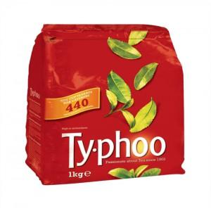 Typhoo Tea Bags Vacuum Packed 1 Cup Pack 440 Code A01006