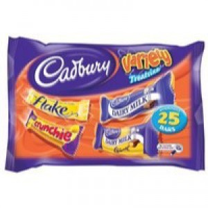 Cadbury Favourites Bag Fairtrade Chocolates 350g Ref A06966
