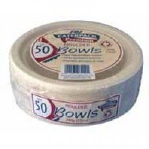 Bowls Rigid Biodegradable Microwaveable 12oz [Pack 50]