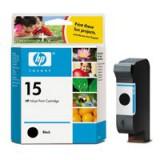 HP No.15 Inkjet Cartridge 25ml Black Code C6615DE
