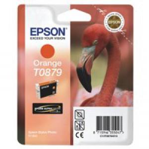 Epson T0879 Orange Inkjet Cartridge