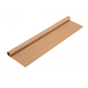 Wrapping Paper Roll 70gsm 750mmx4m Brown
